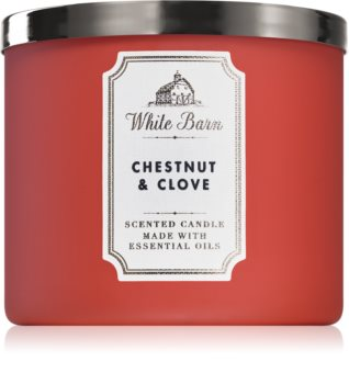 Bath & Body Works Chestnut & Clove vonná sviečka