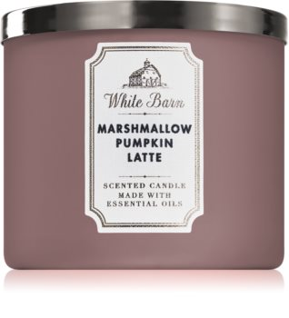 Bath & Body Works Marshmallow Pumpkin Latte illatos gyertya