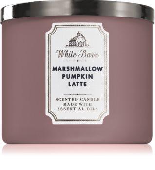 Bath & Body Works Marshmallow Pumpkin Latte vela perfumada