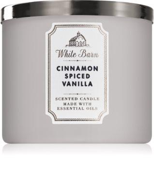 Bath & Body Works Cinnamon Spiced Vanilla vonná svíčka