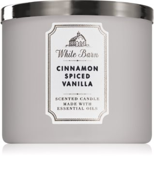 Bath & Body Works Cinnamon Spiced Vanilla vonná sviečka