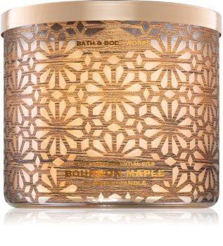 Bath & Body Works Bourbon Maple vela perfumada  II.