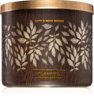 Bath & Body Works Flannel scented candle III