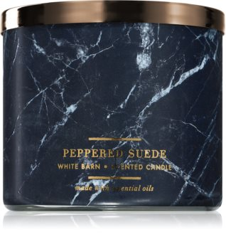 Bath & Body Works Peppered Suede illatos gyertya
