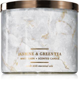 Bath & Body Works Jasmine & Green Tea illatos gyertya