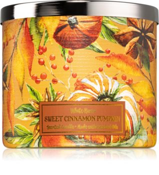 Bath & Body Works Sweet Cinnamon Pumpkin mirisna svijeća