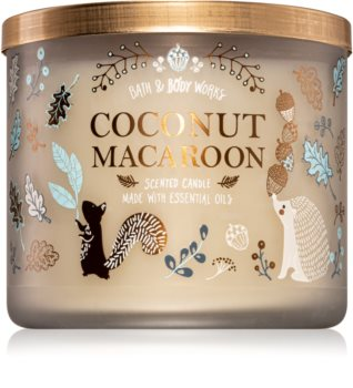 Bath & Body Works Coconut Macaroon illatos gyertya