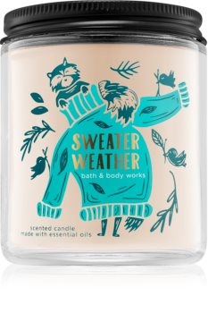 Bath & Body Works Sweater Weather illatos gyertya  I.