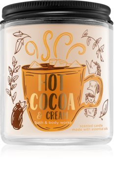 Bath & Body Works Hot Cocoa & Cream vonná svíčka