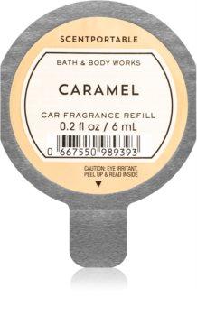 Bath & Body Works Caramel vůně do auta náhradní náplň