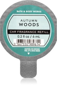 Bath & Body Works Autumn Woods vôňa do auta náhradná náplň