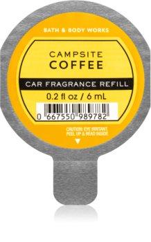 Bath & Body Works Campsite Coffee vôňa do auta náhradná náplň