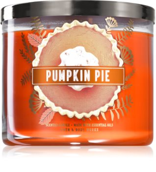 Bath & Body Works Pumpkin Pie scented candle