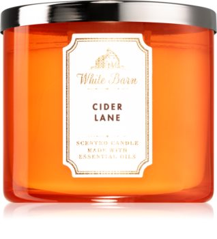 Bath & Body Works Cider Lane scented candle