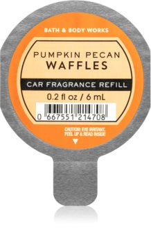 Bath & Body Works Pumpkin Pecan Waffles auto luchtverfrisser  Vervangende Vulling