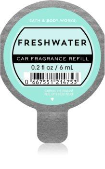 Bath & Body Works Freshwater vôňa do auta náhradná náplň