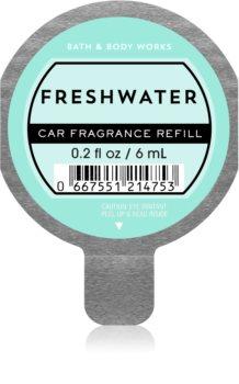Bath & Body Works Freshwater vůně do auta náhradní náplň