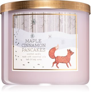 Bath & Body Works Maple Cinnamon Pancakes lumânare parfumată  I.