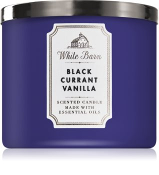 Bath & Body Works Black Currant Vanilla vonná svíčka