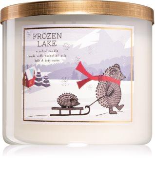 Bath & Body Works Frozen Lake candela profumata