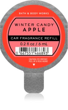 Bath & Body Works Winter Candy Apple vôňa do auta náhradná náplň
