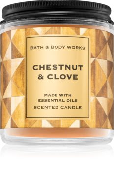 Bath & Body Works Chestnut & Clove vonná svíčka I.
