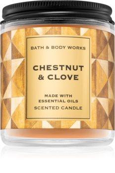 Bath & Body Works Chestnut & Clove vonná sviečka I.