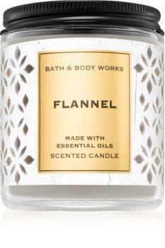 Bath & Body Works Flannel vonná svíčka VIII.