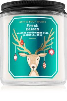 Bath & Body Works Fresh Balsam vonná sviečka III.