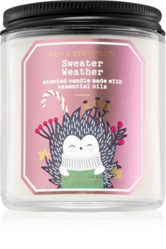 Bath & Body Works Sweater Weather scented candle III