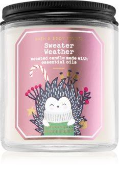 Bath & Body Works Sweater Weather vonná sviečka III.