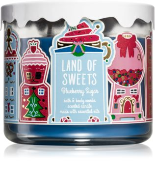 Bath & Body Works Blueberry Sugar vonná visačka