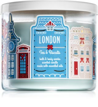 Bath & Body Works Tea & Biscuits illatos gyertya  (London)