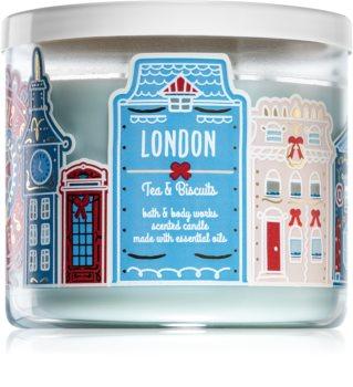 Bath & Body Works Tea & Biscuits vela perfumada  (London)