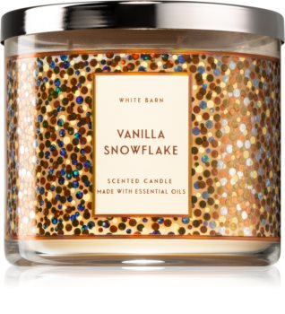 Bath & Body Works Vanilla Snowflake scented candle