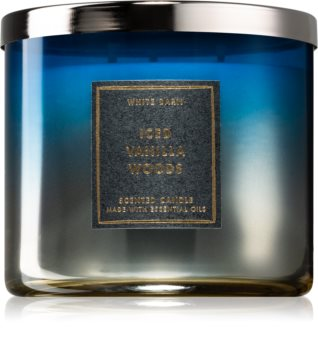 Bath & Body Works Iced Vanilla Woods scented candle