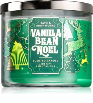 Bath & Body Works Vanilla Bean Noel vonná sviečka