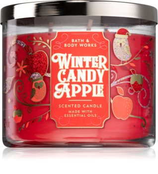 Bath & Body Works Winter Candy Apple scented candle I.