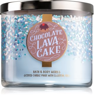 Bath & Body Works Chocolate Lava Cake illatos gyertya