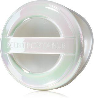 Bath & Body Works White Iridescent flyttbar dofthållare för bil Hängande