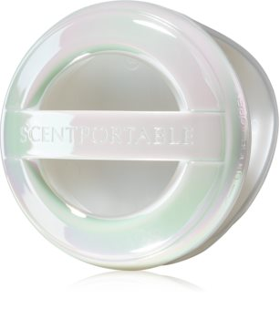 Bath & Body Works White Iridescent scentportable holder for car Hanging