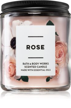 Bath & Body Works Rose vonná sviečka