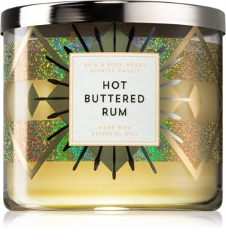 Bath & Body Works Hot Buttered Rum scented candle