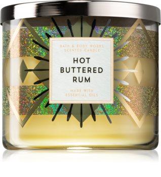 Bath & Body Works Hot Buttered Rum vonná sviečka