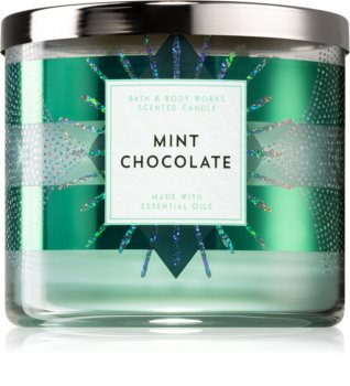 Bath & Body Works Mint Chocolate vonná sviečka