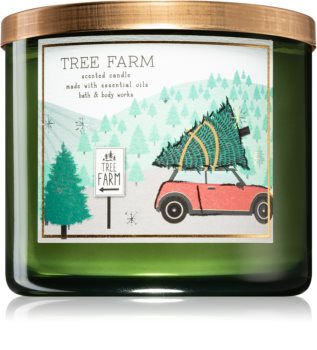Bath & Body Works Tree Farm scented candle