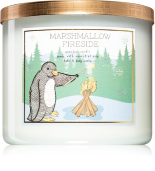 Bath & Body Works Marshmallow Fireside vonná svíčka