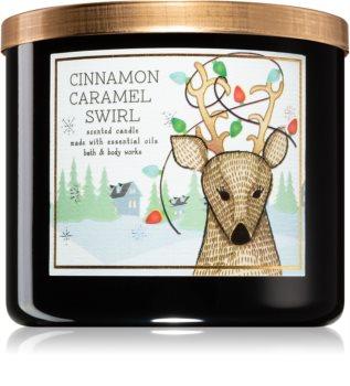 Bath & Body Works Cinnamon Caramel Swirl duftkerze  II.