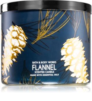 Bath & Body Works Flannel bougie parfumée II.