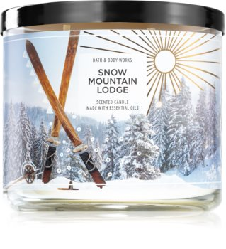 Bath & Body Works Snow Moutain Lodge scented candle
